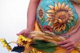 Bump Painting: quando la gravidanza diventa un'opera d'arte