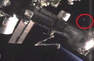VIDEO Avvistato un UFO vicino alla Stazione Spaziale Internazionale