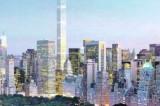 New York skyline. Il grattacielo più alto in Occidente domina Park Avenue
