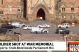 Ottawa, sparatoria al Parlamento: ferito un soldato – DIRETTA LIVE