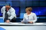 VIDEO Taranto, uomo armato fa irruzione in diretta nel tg di Studio 100