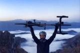 Paola Gianotti entra nel Guinness con il suo giro del mondo in bici