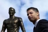 FOTO La statua in onore di Cristiano Ronaldo