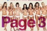 Via le donne in topless della famosa 'Pagina 3′ del tabloid The Sun