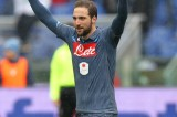 Lazio – Napoli 0-1 VIDEO GOL: decide Higuain, traversa di Parolo