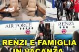 Matteo Renzi in vacanza con volo di Stato. L'accusa del M5S