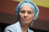 Emma Bonino, la prima uscita pubblica dopo l'annuncio della malattia