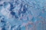 FOTO Siberia, la misteriosa neve blu della città di Chelyabinsk