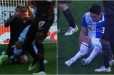 VIDEO Infortunio Mattiello: gamba spezzata in contrasto con Nainggolan
