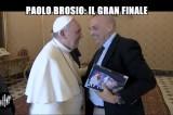 Paolo Brosio incontra Papa Francesco. Questa volta, per davvero