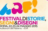 ARF! a Roma il festival dei fumetti con Zerocalcare, Garrone e Valentina