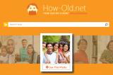 How Old.net, il sito web che calcola gli anni che realmente dimostri