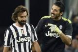 Juventus: il saluto di Buffon a Pirlo, un tributo ad amicizia e genialità