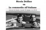 All'Osteria da Benito: Nicola Delfino vs la commedia all'italiana