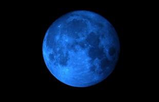 La Luna Blu non è blu!