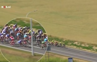 VIDEO Maxi caduta durante la terza tappa del Tour de France 2015