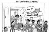 La discutibile vignetta satirica di Giannelli sul Corriere della Sera