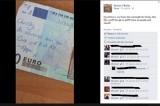 Cupido esiste. Donna fa riunire due ex con messaggio su 20 euro
