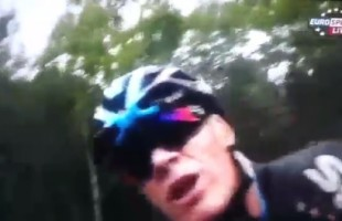 VIDEO Chris Froome bestemmia in italiano in diretta tv alla Vuelta