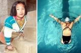 Ragazza senza gambe diventa campionessa di nuoto