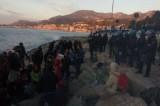 Ventimiglia. Sgomberata tendopoli di migranti