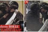 FOTO Roberto Bolle, bacio passionale al compagno Antonio Spagnolo