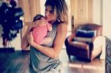 La prima FOTO di Elisabetta Canalis e della piccola Skyler Eva
