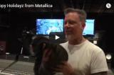Metallica: gli auguri di Natale con un assaggio del nuovo disco