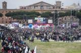 I numeri gonfiati del Family Day: in piazza meno di 300mila persone