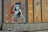 Google salva il murales di Banksy. L'opera è visibile su Street View