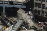 VIDEO India: il crollo del cavalcavia di Calcutta ripreso dalle telecamere