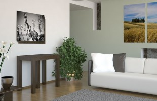 Belli, allungabili e funzionali, ecco i nuovi mobili per arredare i soggiorni di piccole dimensioni