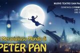 Il Meraviglioso Mondo di Peter Pan ieri al Nuovo Teatro San Paolo di Roma